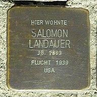 Stolperstein Salomon Landauer Creglingen SDIM0402.jpg