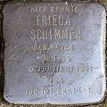Stolpersteine Kön, Frieda Schimmer (Grafenwerthstraße 1).jpg