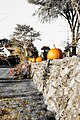 Stone Fence With Pumpkins (15491815165).jpg