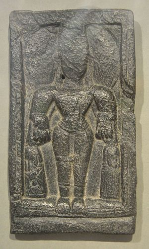 Moghalmari - Stone Figure of 5th-7th Century CE found in Moghalmari.