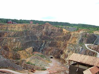 Stora stöten i Falu koppargruva