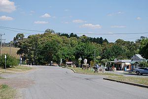 Strathbogie, Victoria - Main street of Strathbogie
