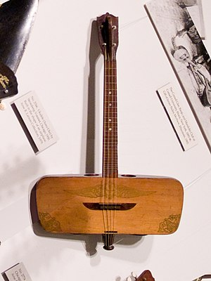 Kay Musical Instrument Company - Image: Stromberg Voisinet Aero uke (c.1930), National Music Museum, Vermillion