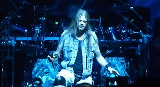 Iced Earth - Stu Block (pictured) joined Iced Earth for 2011's Dystopia.