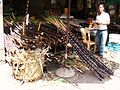 Sugar cane vender near Mekong Delta, Vietnam - panoramio.jpg