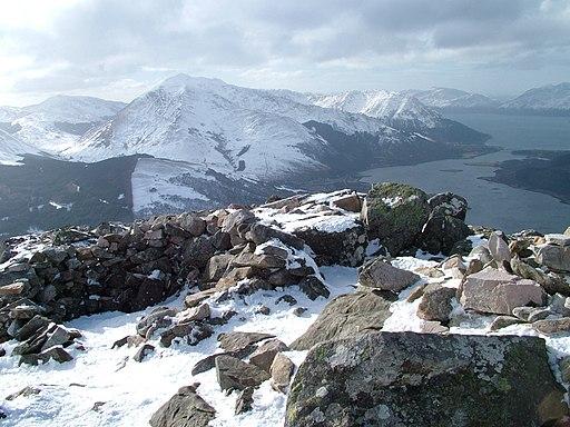Summit, Sgorr na Ciche - geograph.org.uk - 1731430
