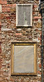 Sundial and memorial on St Mary's, Totnes.jpg