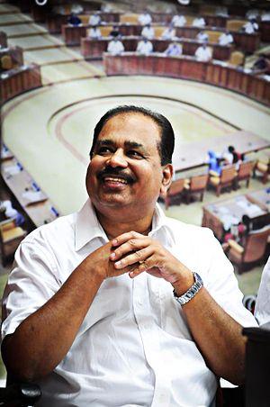 Sunnykutty Abraham - Sunnykutty Abraham at the release of his book Sabhathalam: Nammude Niyama Nirmana Sabhakal in 2013