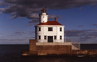 Wisconsin Point Light lighthouse in Wisconsin, United States