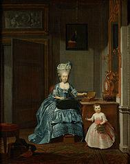 Susanna van Collen née Mogge and her daughter
