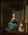 Susanna van Collen-Mogge met haar dochter Rijksmuseum SK-A-2419.jpeg