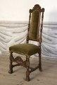 Svarvad stol, 1600-talets sista hälft - Skoklosters slott - 103843.tif