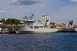HSwMS <i>Trossö</i> (A264) Swedish ice-strengthened patrol craft tender