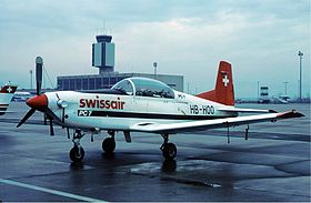 Swissair Pilatus PC-7.jpg