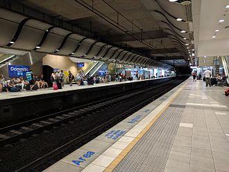 Domestic Airport railway station, Sydney - Image: Sydney Domestic Airport Station 10