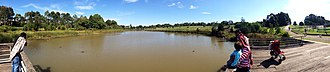 Sydney Park - Image: Sydney Park panoramic view in Easter 2014