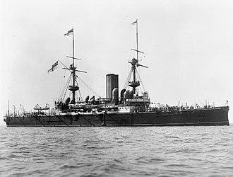 HMS Barfleur (1892) - Image: Symonds and Co Collection Q20993