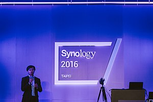 Synology Inc. - Current Synology CTO Derren Lu.