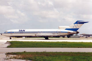 Tan-Sahsa Flight 414 1989 aviation accident