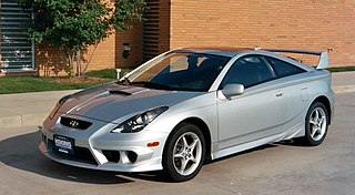 Toyota Celica automobile produced by Toyota from 1970 to 2006