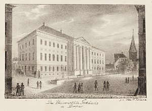 Georg Friedrich Parrot - The Imperial University of Dorpat, 1832–1835.