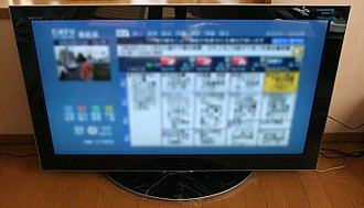Television set - A Toshiba Regza LCD television set
