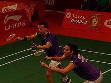 TOTAL BWF World Champs 2015 Day 2 Jorrit de Ruiter - Samantha Barning.jpg