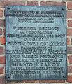 Tablica pamiatkowa wyzwolenia z zaboru austriackiego Krakow.jpg