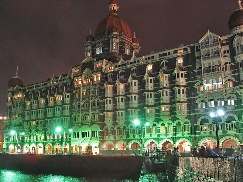 File:Taj Mahal Palace Hotel at night.jpg