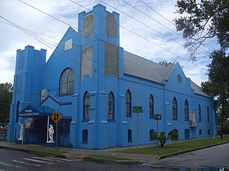 Missionary Baptists - Paradise Missionary Baptist Church, in Tampa, Florida