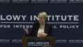 Tanya Plibersek MP on how Australia can be a better international citizen 31 May 2016 Lowy Institute.png