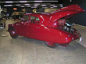 Tatra 97 - T97 rear view