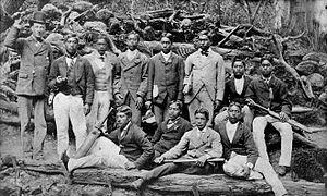 Ngāti Kahungunu - Students at Te Aute College in 1880.