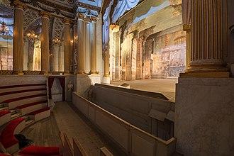 Gripsholm Castle - Gustav III's Theatre.