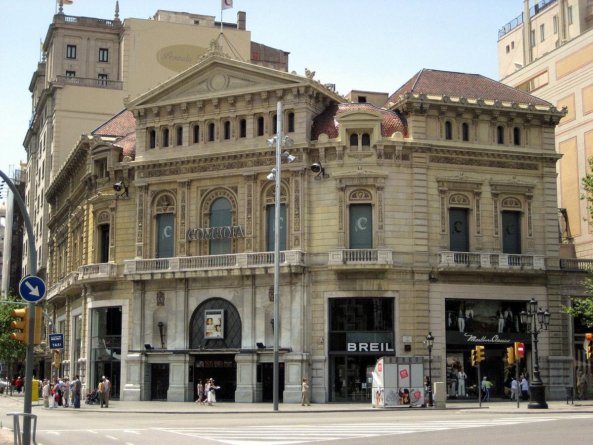 Palau marcet viquip dia l 39 enciclop dia lliure for Yelmo cines barcelona