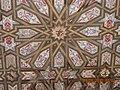 Techo artesanal árabe en Reales Alcázares de Sevilla.jpg