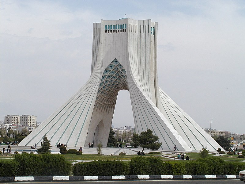 پرونده:Tehran (Iran) Azadi Monument (built 1971).jpg