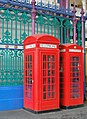 Telephone boxes in Smithfield Market - geograph.org.uk - 104807.jpg