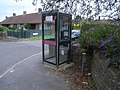 Telephone kiosk at Monkton Heathfield - geograph.org.uk - 885464.jpg
