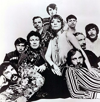 Ten Wheel Drive - The group in 1970