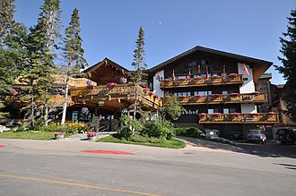 National Register of Historic Places listings in Teton County, Wyoming - Image: Teton Village WY The Alpenhof