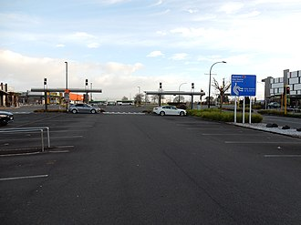 Te Rapa - There are over 3,000 parking spaces at The Base