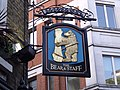 The Bear & Staff - pub sign - London (4038897887).jpg