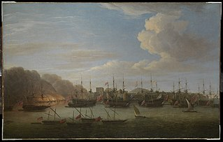 The Capture of Geriah, February 1756