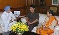 The Chief Minister of Arunachal Pradesh, Shri. Dorjee Khandu calling on the Prime Minister, Dr. Manmohan Singh, in New Delhi on May 30, 2007 (1).jpg