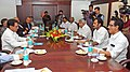 The Chief Minister of Kerala, Shri Oommen Chandy meeting the Union Minister for Civil Aviation, Shri Ajit Singh, in New Delhi on March 04, 2013.jpg