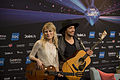 The Common Linnets, ESC2014 Meet & Greet 06.jpg