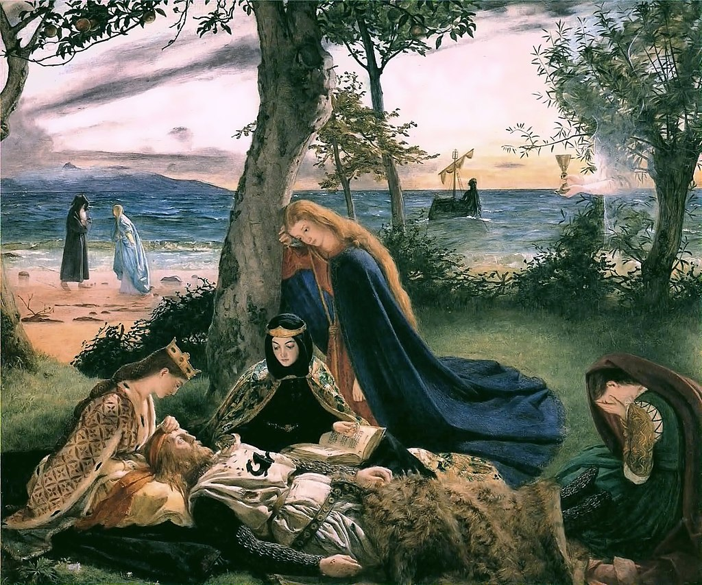 """The Death of King Arthur"" by James Archer – Joy of Museums"