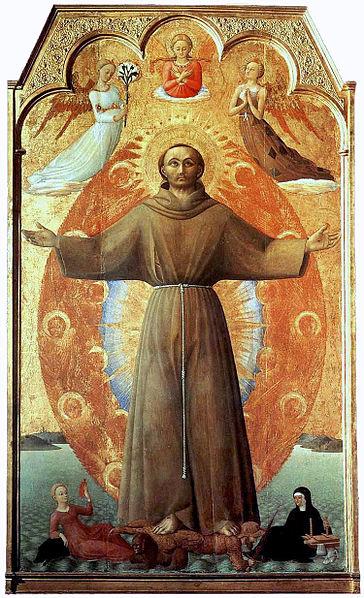 San Francesco, estasi dans immagini sacre 364px-The_Ecstasy_of_st_Francis--Sassetta