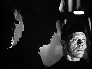 Skelton Knaggs - As Finn the Mute in The Ghost Ship (1943)
